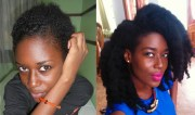 grew natural hair mid