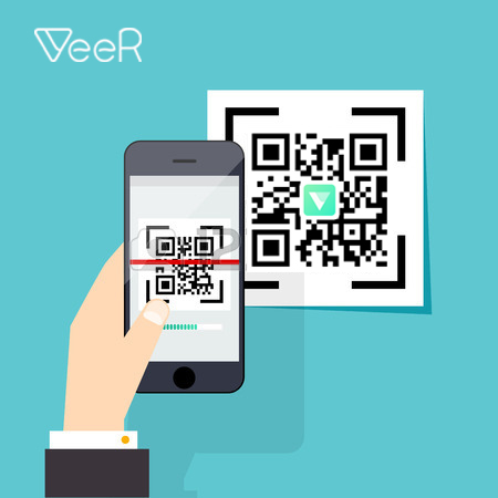 how do i scan a code with my iphone how to a veer through qr code veer vr 21304