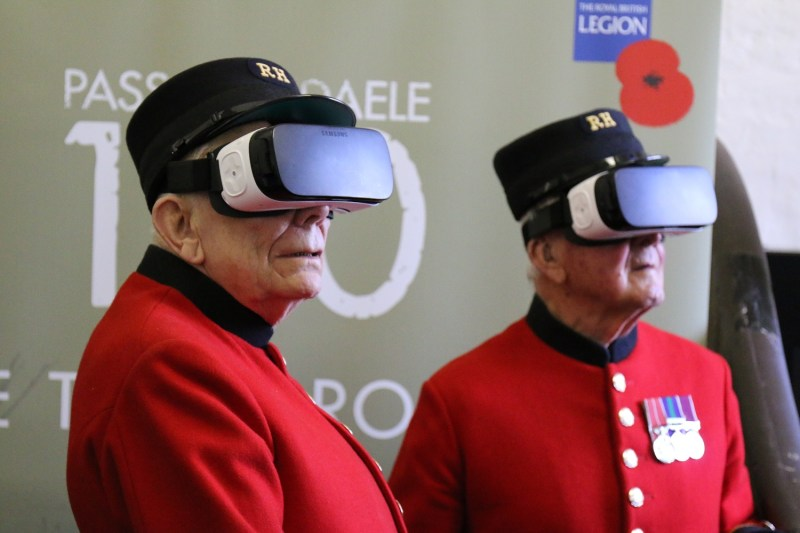 Viewing WWI in a new way: Using VR to commemorate the Battle of Passchendaele