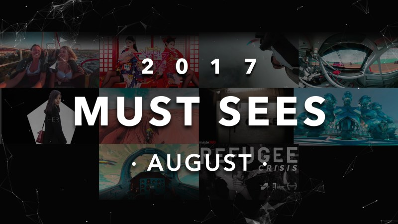 Yep! Must-sees of August list is here!