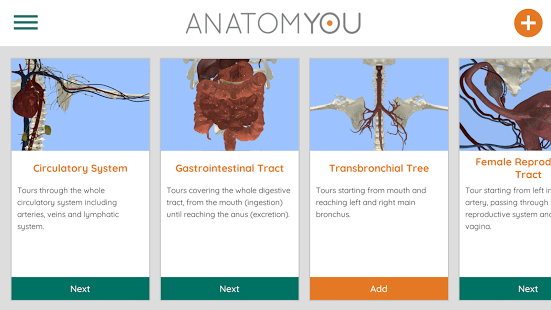 Anatomyou VR Education app