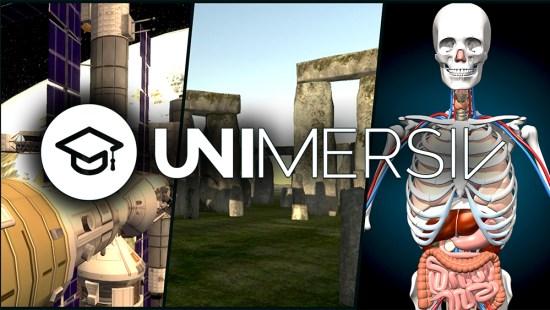 Unimersiv VR education app