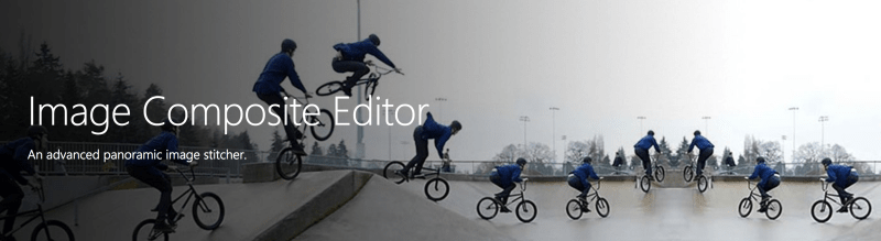 Using Microsoft ICE to Stitch and Export Your Panorama