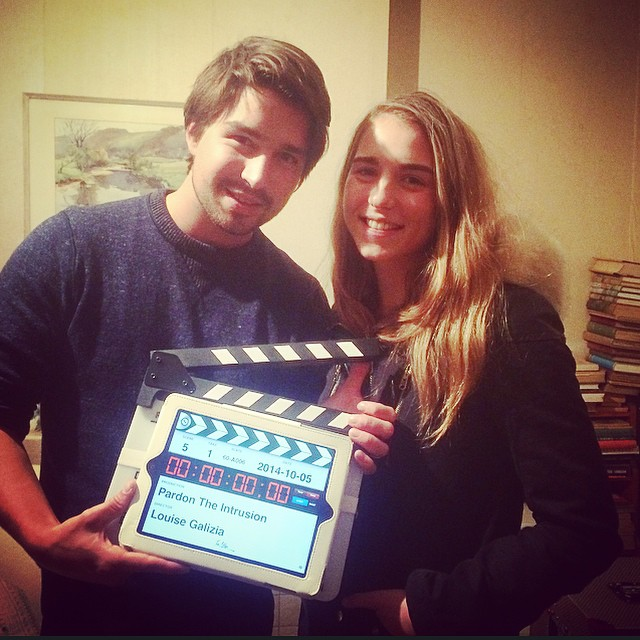 Grace Monroe and Harry Chadwick - first short film