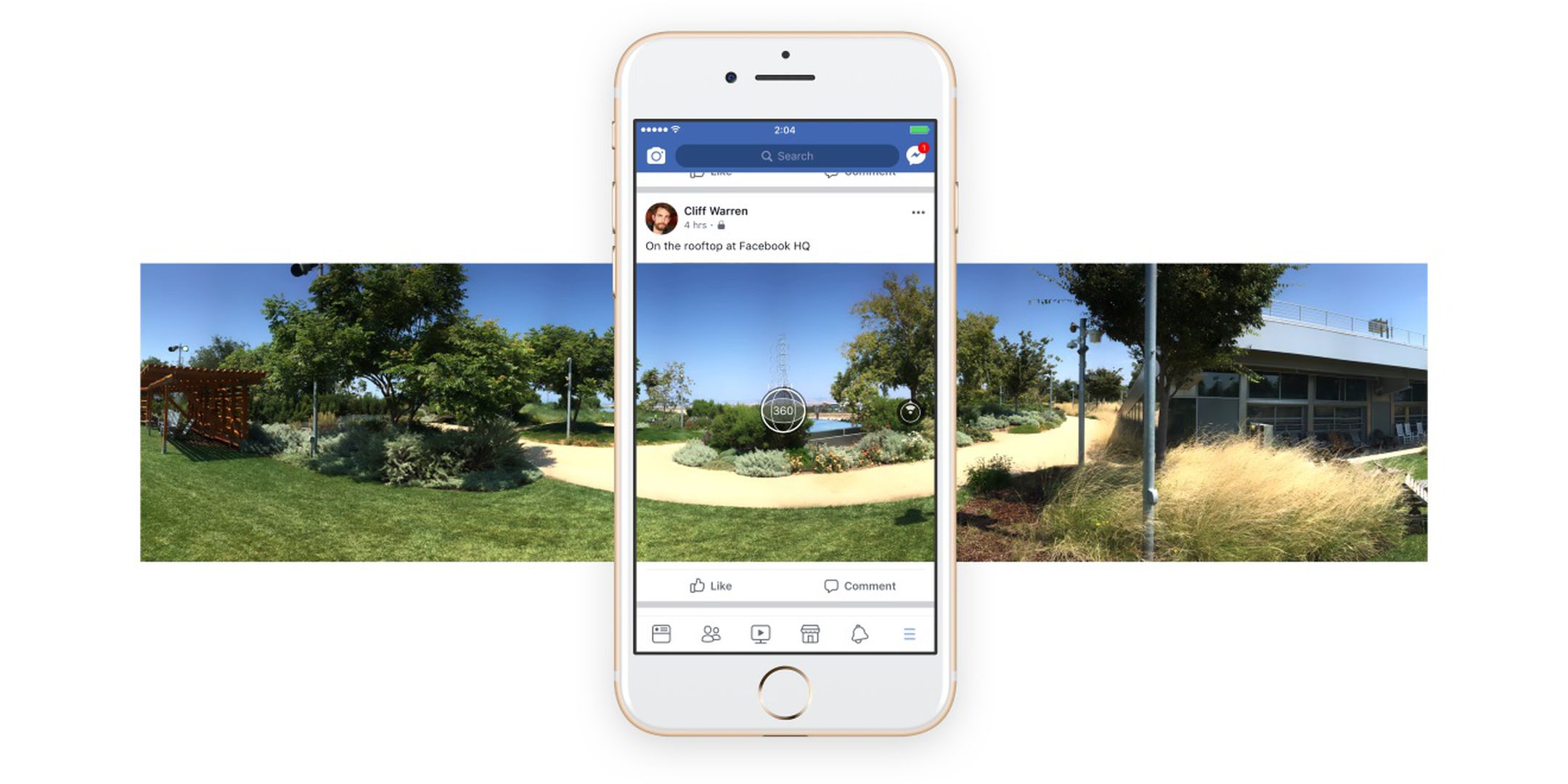 FaceBook 360 Photos App