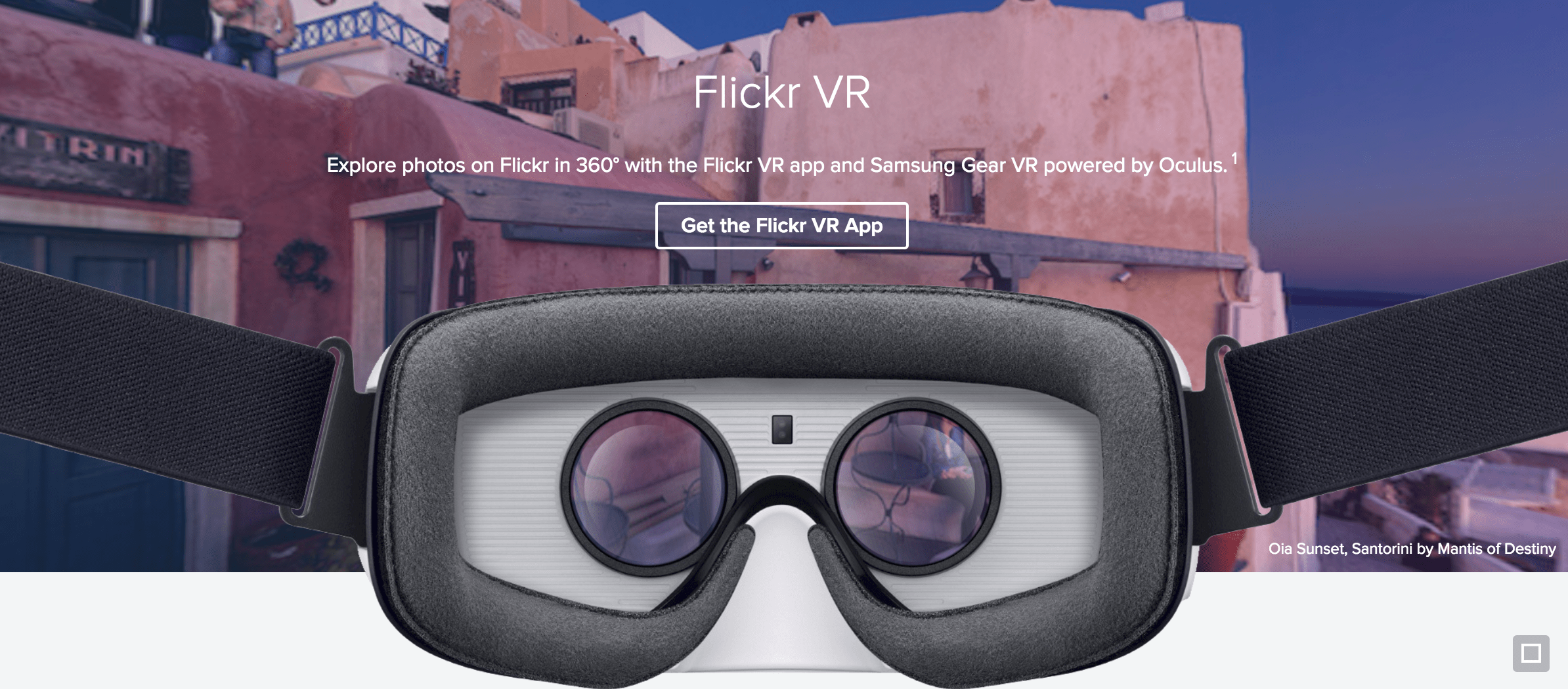 Flickr Virtual Reality