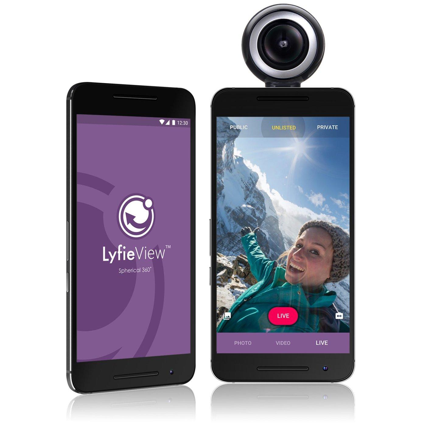 LyfieView 360 camera
