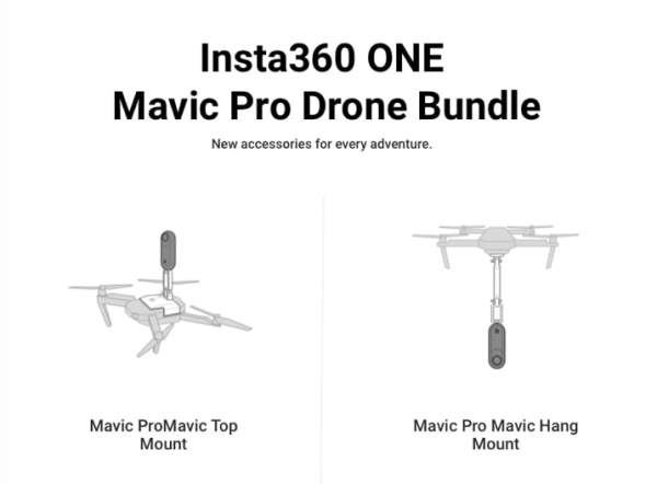 Insta360 one mavic drone bundle