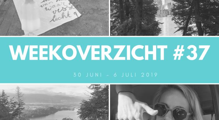 Weekoverzicht 37: weer thuis in Slovenie!