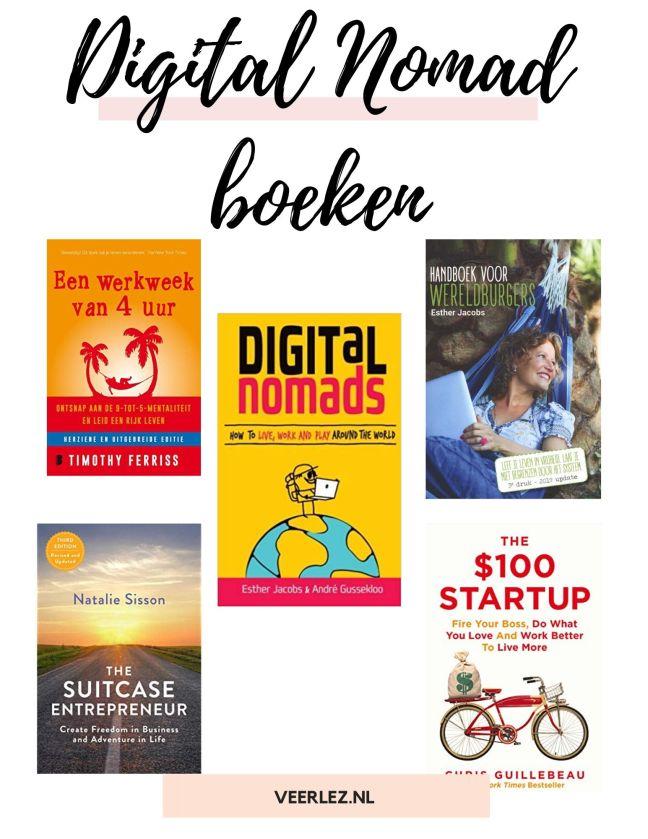 Wanneer je een digital nomad wilt worden, is het belangrijk om je alvast in te lezen over dit onderwerp. Lees deze 7 digital nomad boeken! #digitalnomad #nomadness
