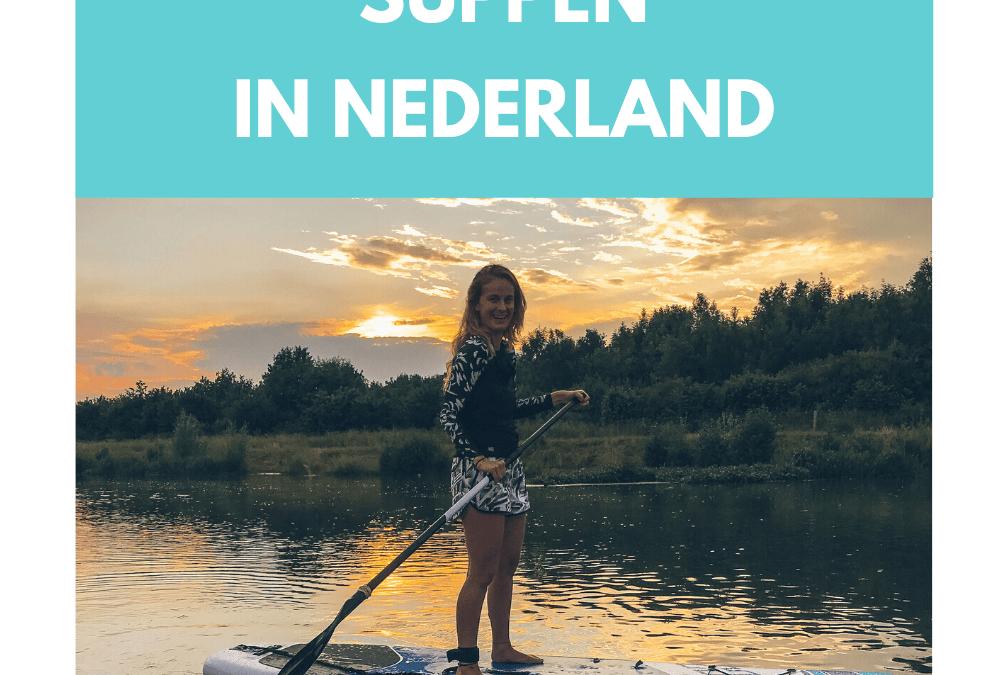 De mooiste plekken om te suppen in Nederland