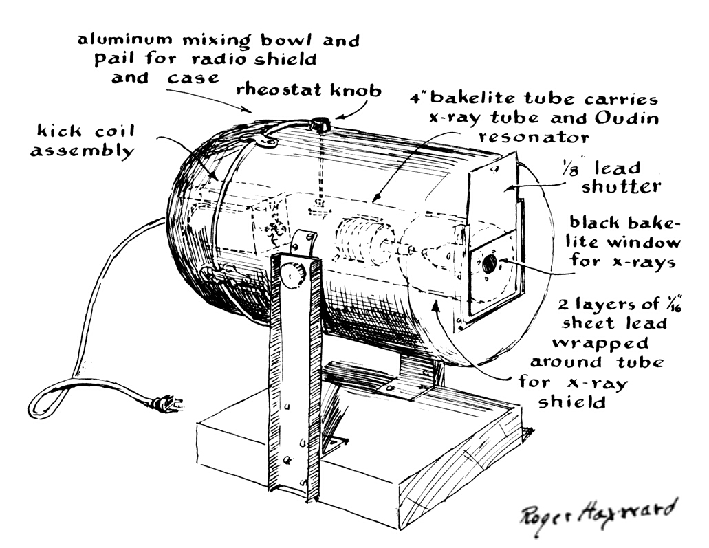 hight resolution of amateur x ray machine