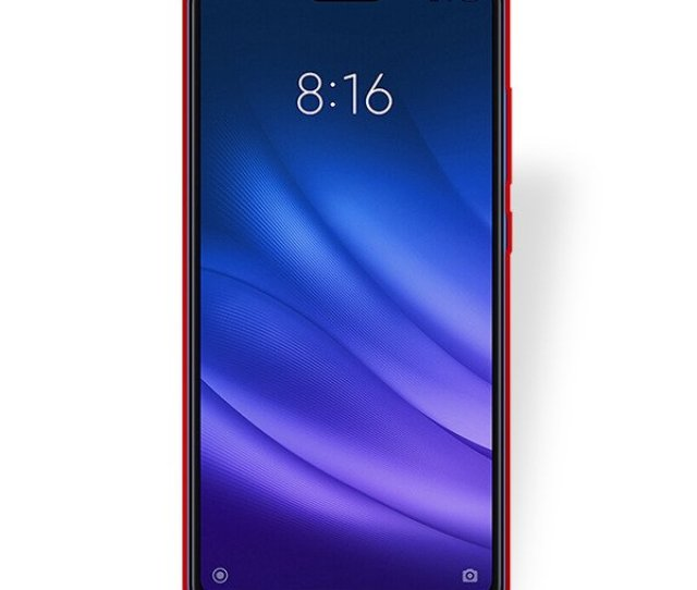Fall Decken Case Armor Xiaomi Mi Lite Mi  Lite Rot Glas