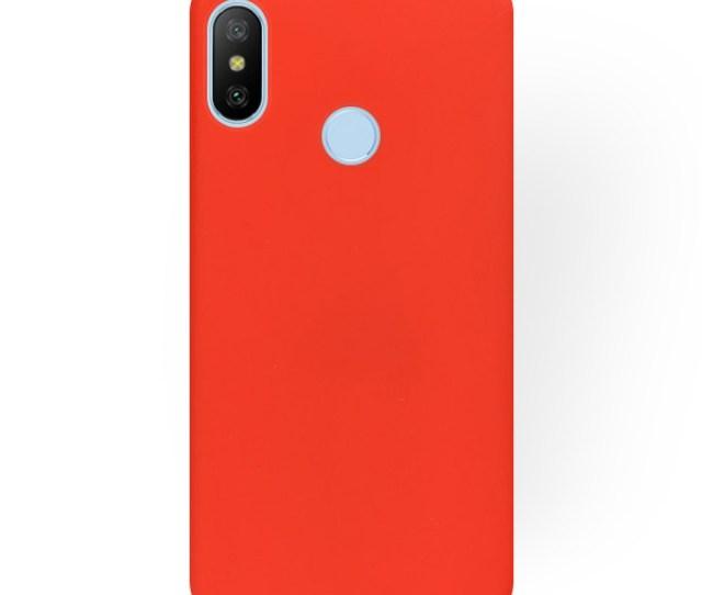 Velvet Tasche Fall Decken Case Xiaomi Mia Lite Mi A Lite Rot