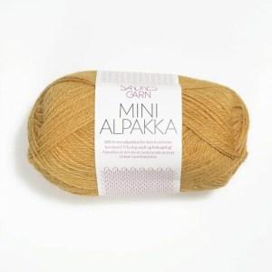 Sandnes Mini Alpakka 2134 - Gul Sand
