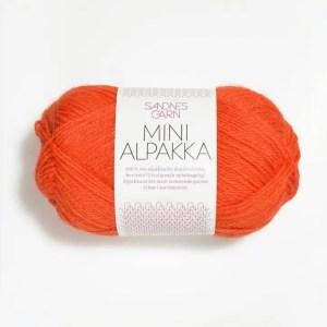 Sandnes Mini Alpakka 3509 - Orange
