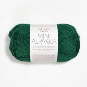 Sandnes Mini Alpakka 7755 - Smaragd