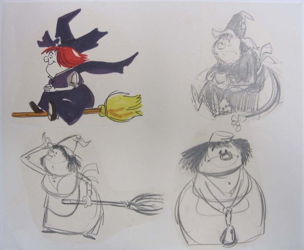 Winsome Witch Model Sheet - Id 02win01 Van Eaton Galleries