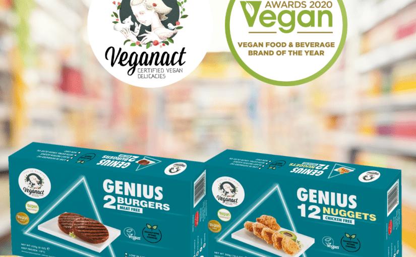 Τα προϊόντα Veganact στα super market Κρητικός