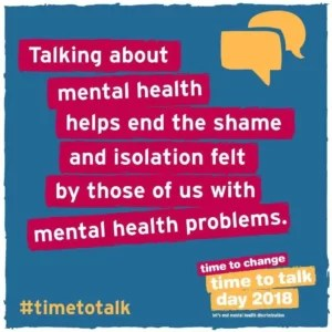 Time To Talk Day: Start A Dialogue