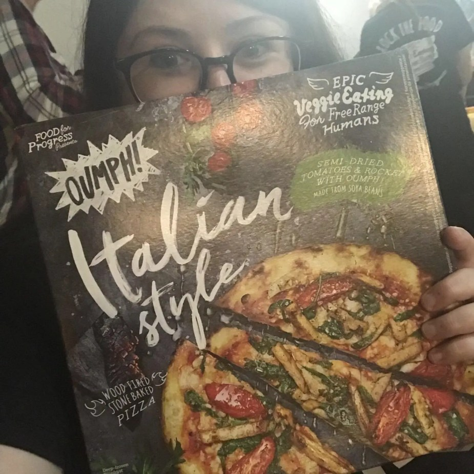 A Taste Of Italy: The New Oumph Pizza