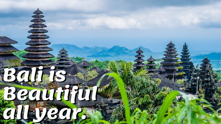 bali best season to visit