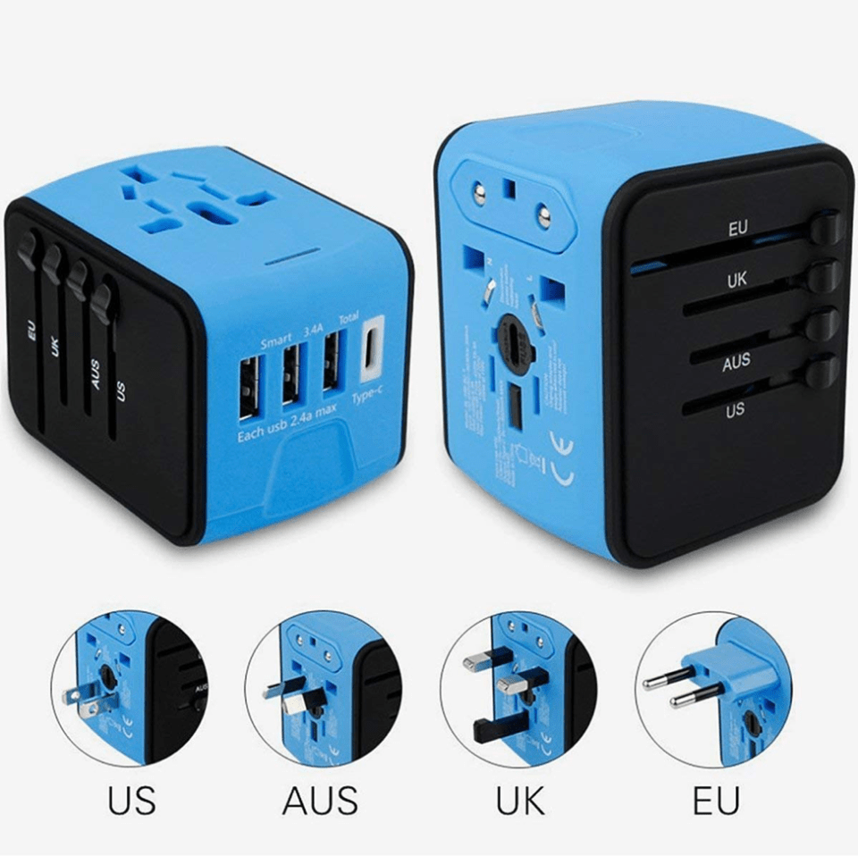 travel adapter for bali