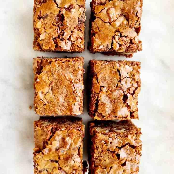 Vegan en glutenvrij brownies