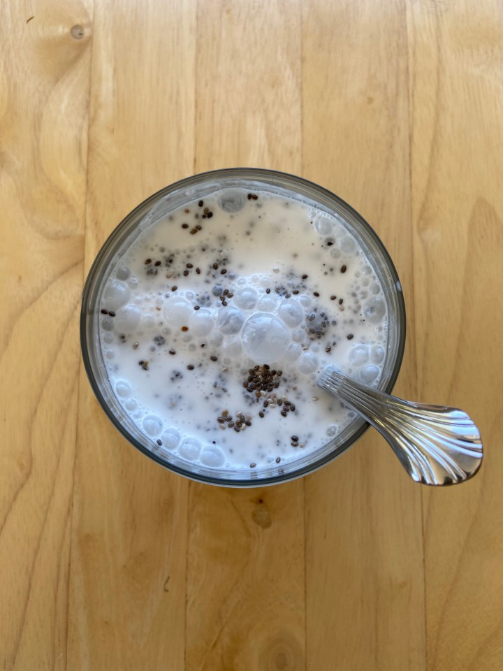 Easy Vanilla Coconut Chia Pudding