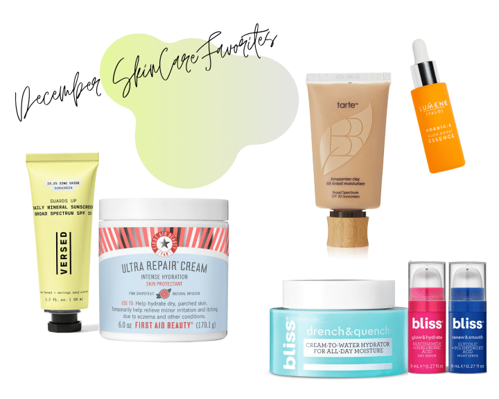 December Skincare Favorites