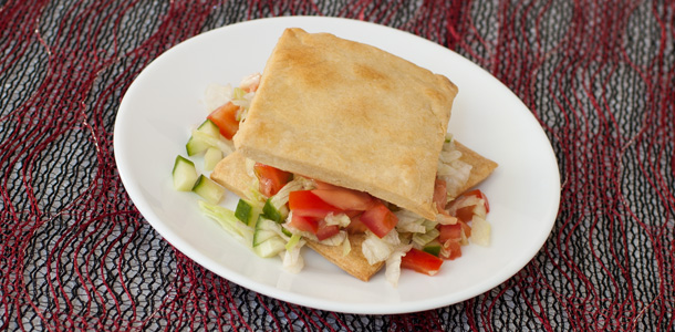 Salad in Pastry