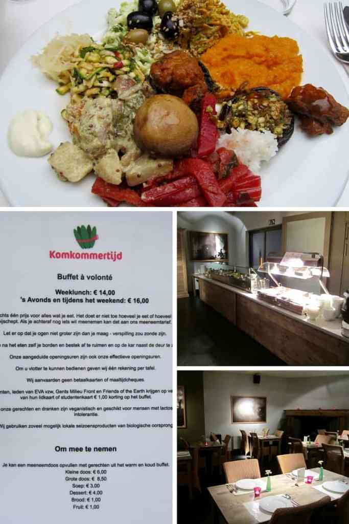 Komkommertijd Restaurant Ghent Belgium