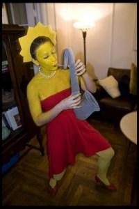 Costume Lisa Simpson