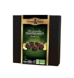 Ganache chocolat aux fruits Saveurs et Nature bio