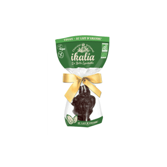 Père Noël bio en chocolat Ikalia