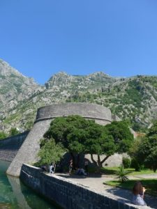 Medieval town Kotor cruise port