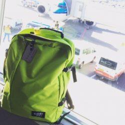 cabinzero bag at gate