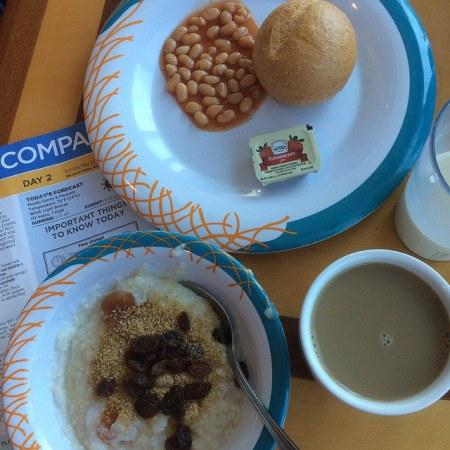 Royal Caribbean vegan breakfast options