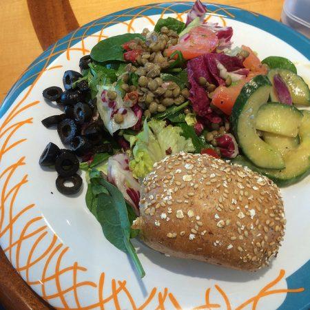 royal caribbean vegan lunch buffet