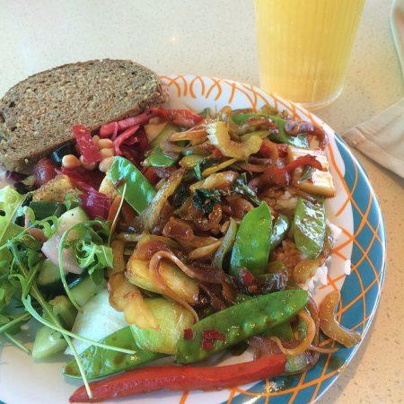 Royal Caribbean vegan lunch chinese buffet