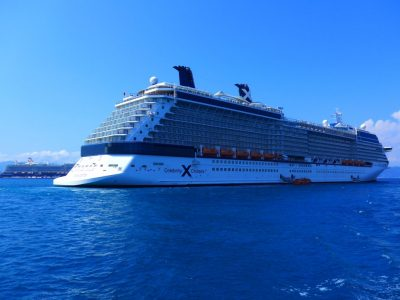 Celebrity Silhouette Solstice Class Corfu