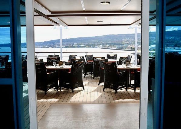Oceania Cruises vegan menu Nautica Terrace Cafe buffet