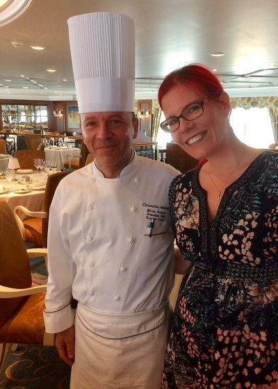 Oceania Cruises vegan menu chef Nautica