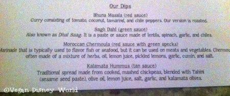 Dip Descriptions