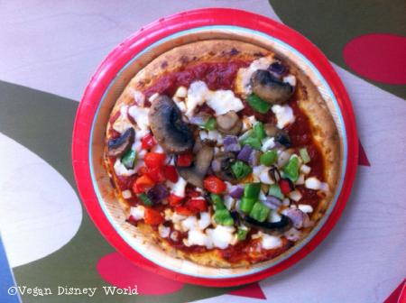 Vegan Veggie Pizza Without Tomato