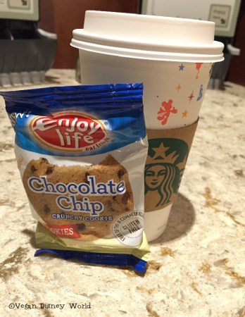 Enjoy Life cookies and our Starbucks
