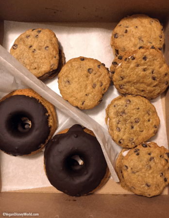 Cookie Sandwiches and Donuts for breakfast