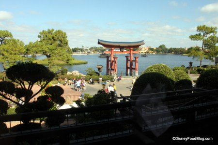 View from Tokyo Dining - Image from DisneyFoodBlog