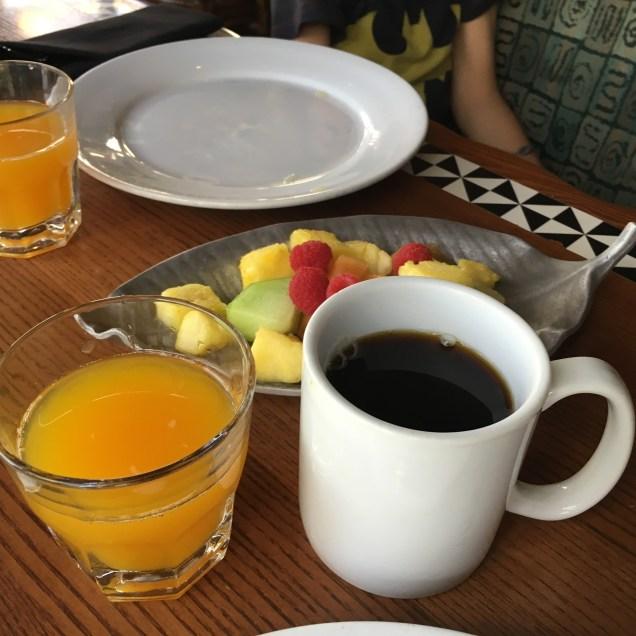Coffee and 'Stitch Juice'
