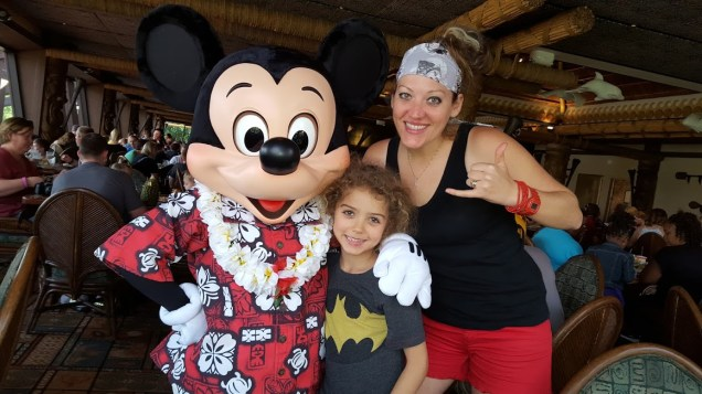 Aloha Mickey